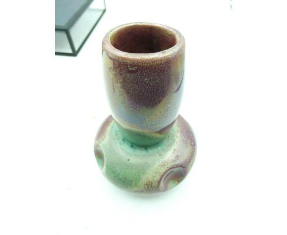 Vase en gres signé Cytere