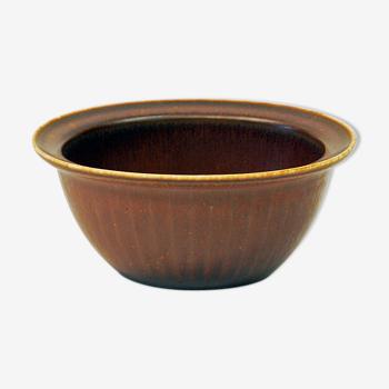 Bol en céramique par Gunnar Nylund, Rörstrand-Suède des années 1950