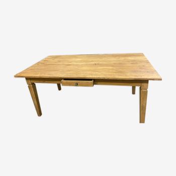 Table hollandaise avec le tiroir