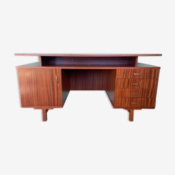 Scandinavian style desk in rosewood veneer