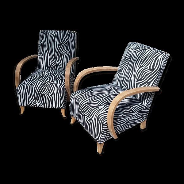 Selency Paire de fauteuils studio 1930