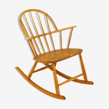 Rocking-chair, Nesto Stolfabrik, Suède, 1960