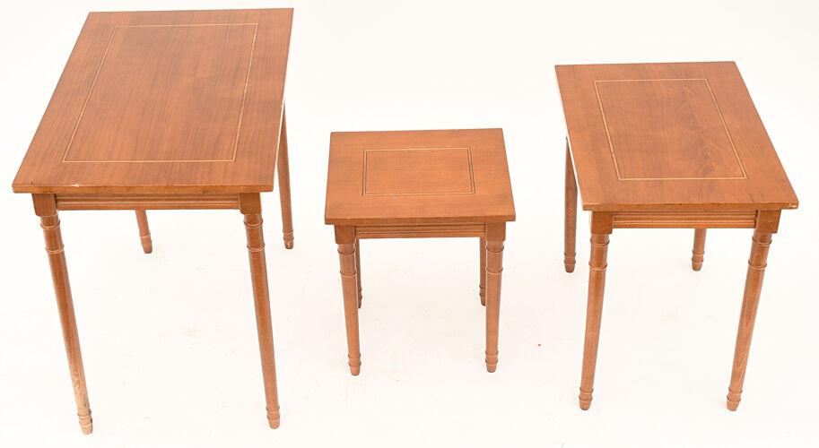 3 Tables gigognes