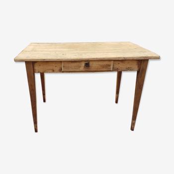 """Table de ferme ou bureau """" sienne """""""