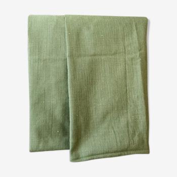 Coussin en coton vert 40 cm
