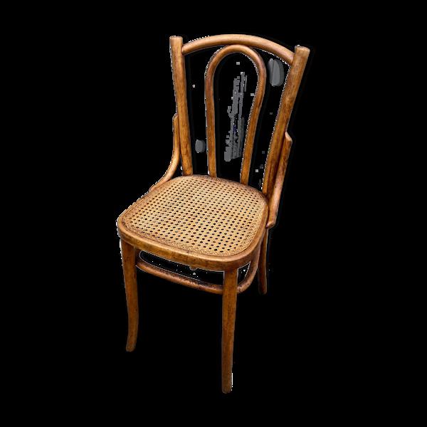 Chaise bois courbé viennoise
