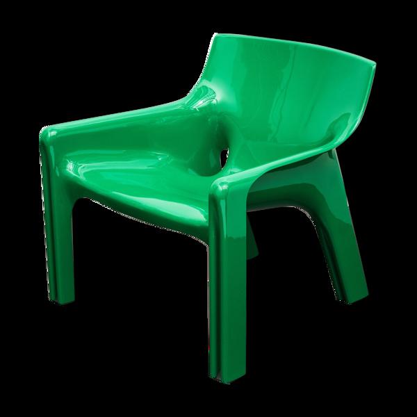 Fauteuil Vicario conçu par Vico Magistretti pour Artemide, 1972