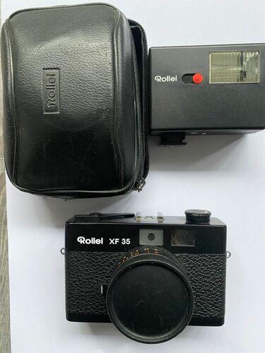Camera appareil photo Rollei XF 35 et son flash