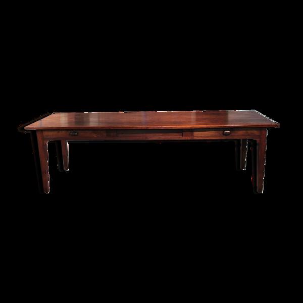Selency Table de ferme divers bois XXème