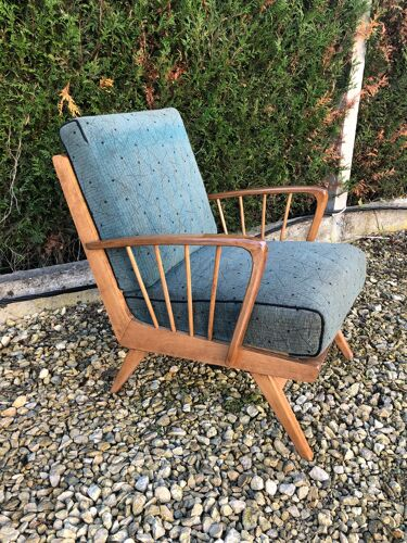 Pair of restored cocktail chairs