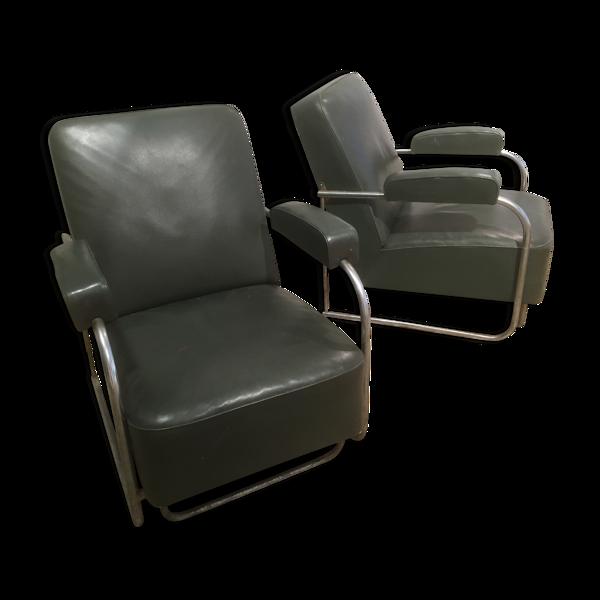 Selency Paire des fauteuils 1930