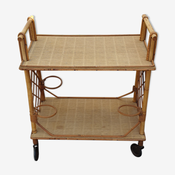Furniture bar rattan 50s