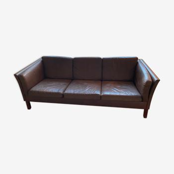 Scandinavian 3-seater sofa