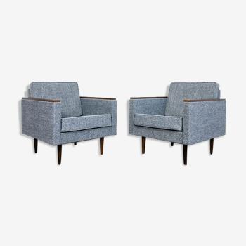 Paire de fauteuils Nowe-B de Nowińskie Fabryki Mebli, années 1970