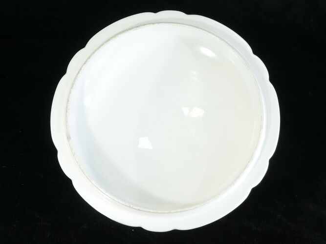Soupière en porcelaine de Limoges pour E. Bourgeois Paris