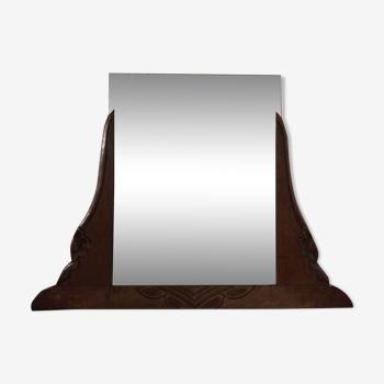 Miroir époque art déco 73x54cm