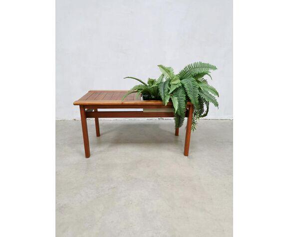 Table d'appoint pour plantes, design danois vintage