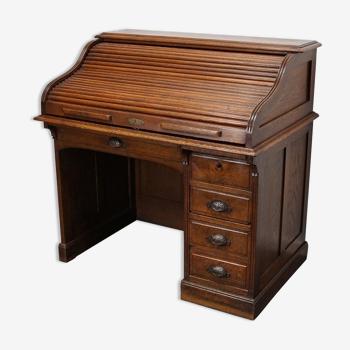 Bureau antique en chêne France 19ème siècle