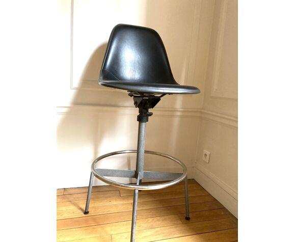 Chaise d'architecte de Charles et Ray Eames édition Herman Miller