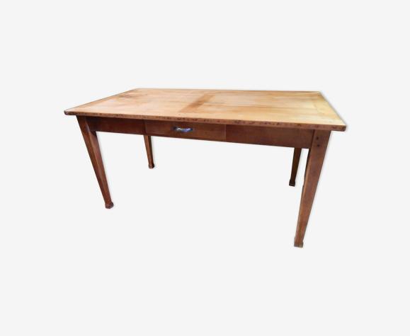Table de ferme bureau ancienne