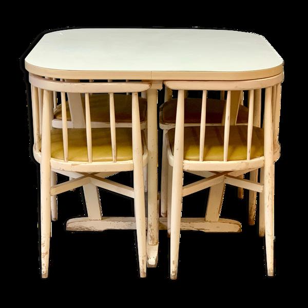 Selency Ensemble table et chaises Thonet