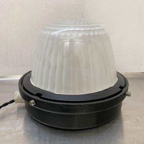 "Lampe a poser industrielle  ""holophane"""