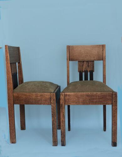 Lot de 2 chaises Art Déco Amsterdam