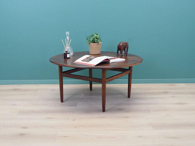 Oak table, Danish design, 60's, production: Denmark
