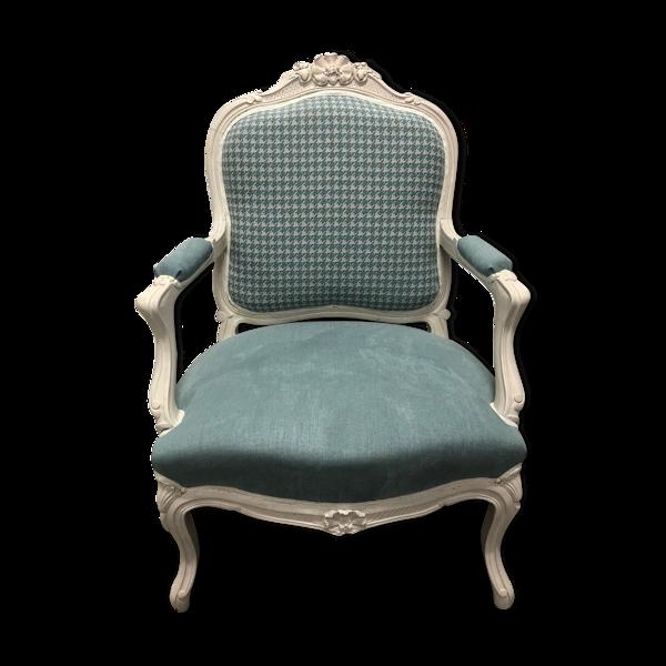 Fauteuil Louis XV cabriolet