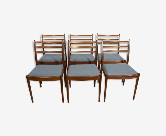 Lot de 6 chaises de Victor Wilkins pour G-Plan, 1960