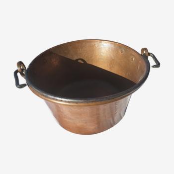 Chaudron en cuivre fabrication française