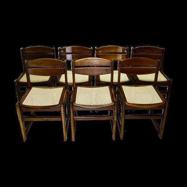 Selency Ensemble de 7 chaises de salle à manger danoises
