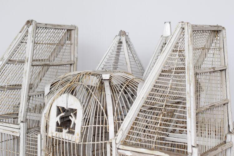 Grande Volière cage à oiseau XIXème