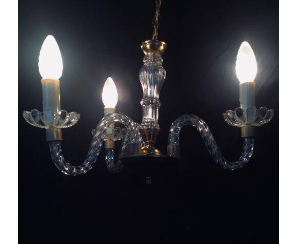 Lustre 3 lumières 1940'