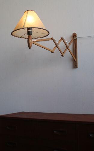 Applique murale à ciseaux des années 1960, Erik Hansen pour Le Klint