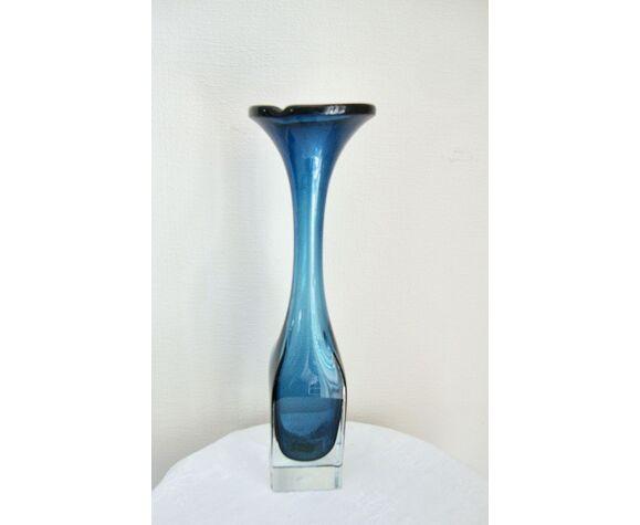 Vase Murano sommerso années 70