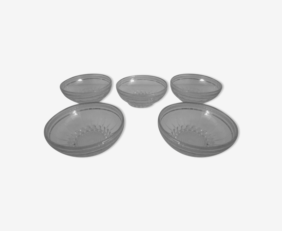 5 granite glass cups