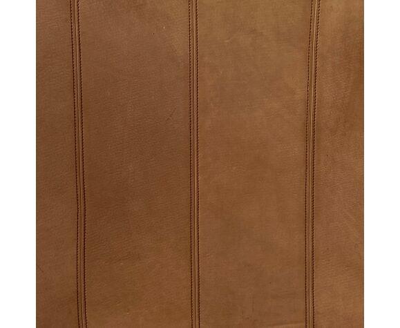 Fauteuil en cuir  DS-44  par DeSede années 1970.