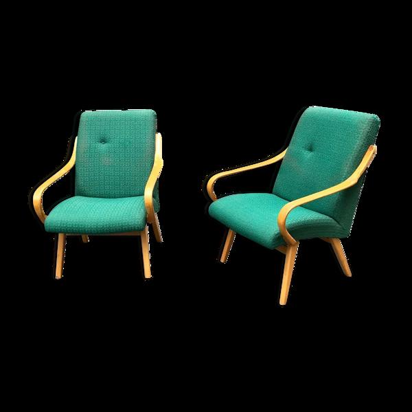 Selency Paire de fauteuils Jitova Sobeslav vers 1970