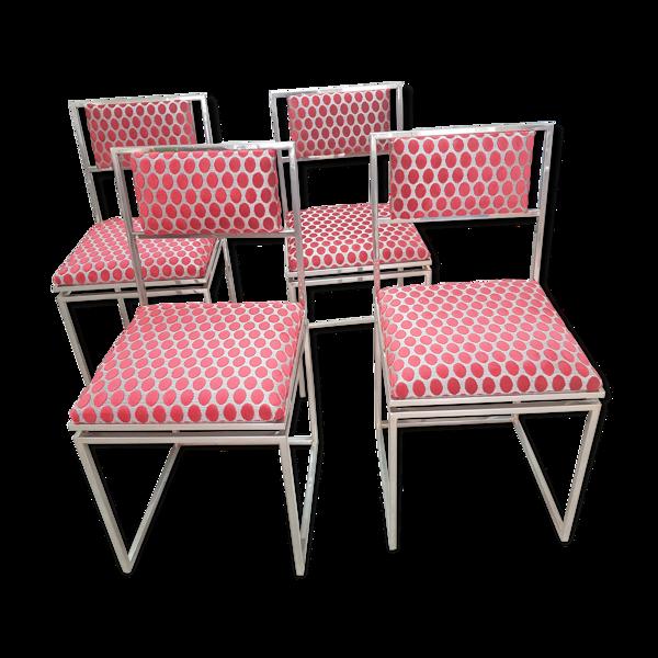 4 chaises des années 1970