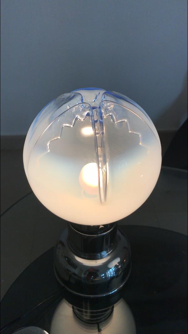 Paire de lampe space age de Mazzega 1960