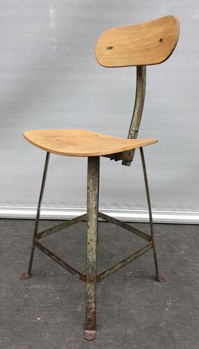 Chaise haute d'atelier bienaise collection modèle 205