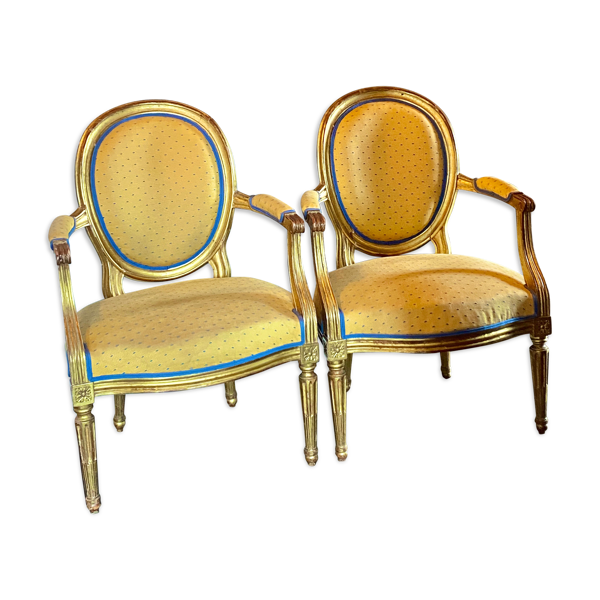 Selency Fauteuils style Louis XVI