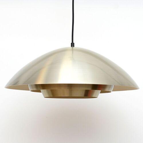 Suspension danoise en laiton doré des années 60