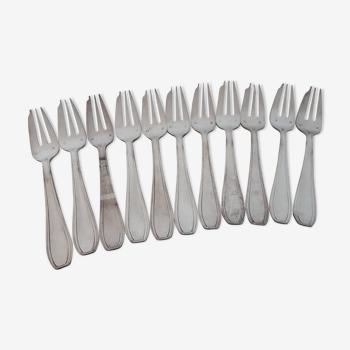 Lot de 11 fourchettes