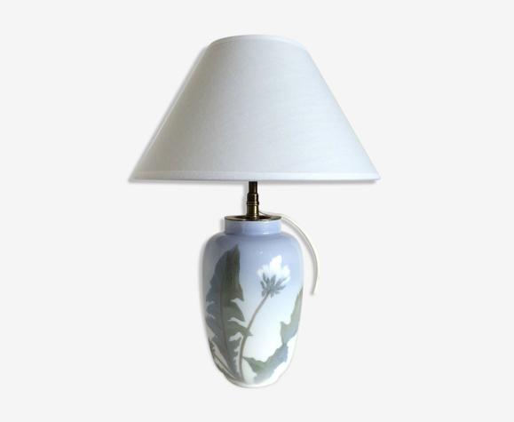 Lampe Royal Copenhage en porcelaine Ddébut XXeme