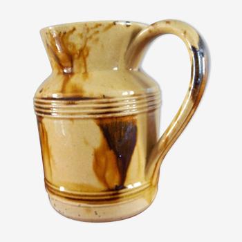 Pichet en grès poterie Mielle