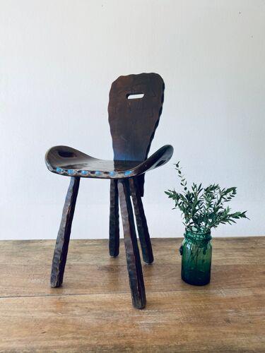 Ancienne chaise de ferme