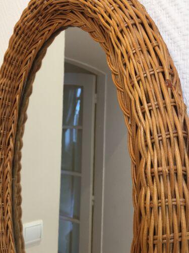Miroir en rotin 40x56cm