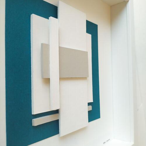 Stucture en bleu n°1